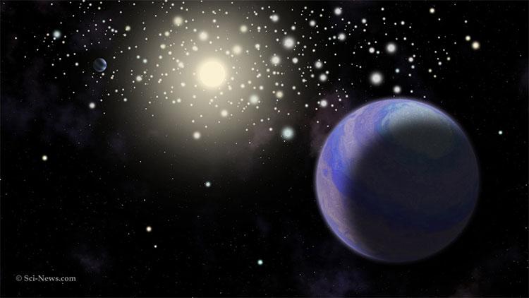 Hai hành tinh này quay quanh cụm sao chủ có tên gọi là cụm sao tổ ong.