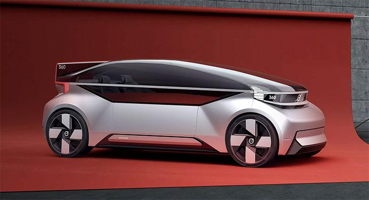 Thiết kế mẫu xe tự lái mới nhất của Volvo.