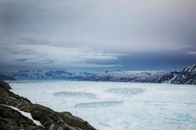 Greenland hiện là một trong những vùng đất chứng kiến rõ rệt nhất tác động của biến đổi khí hậu và ấm lên toàn cầu