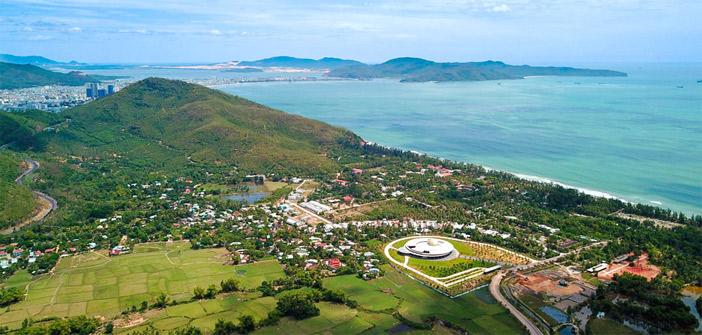 Tổ hợp không gian khoa học đầu tiên tại Việt Nam được xây trên diện tích 12,6 ha ở thung lũng Quy Hòa, phường Ghềnh Ráng (TP Quy Nhơn)
