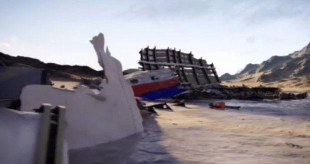 Hình ảnh 3D của MH370 trong phim tài liệu mới.