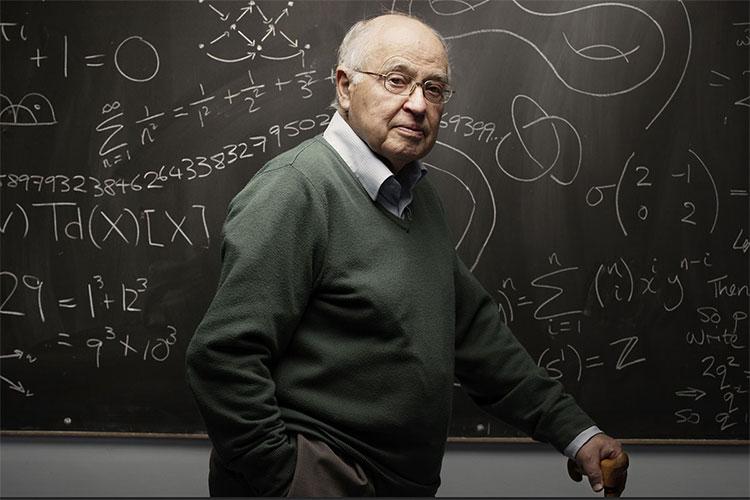 Nhà toán học Michael Atiyah.