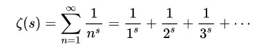 Hàm zeta Riemann.