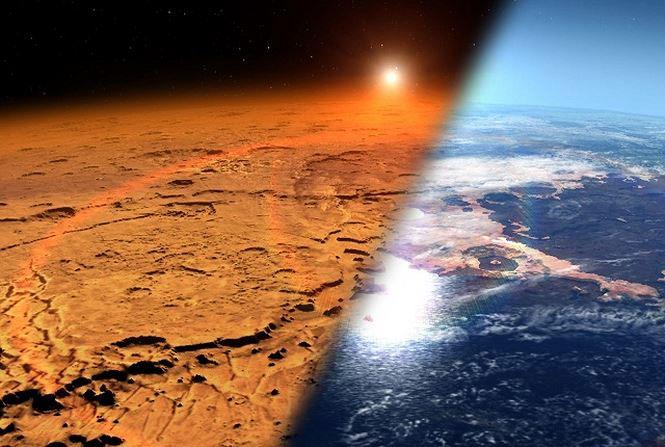 Phía dưới bề mặt sao Hỏa có nhiều điểm tương đồng với Trái đất.