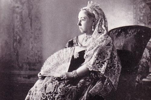 Chân dung Nữ hoàng Victoria.