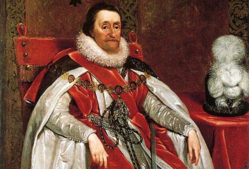 Chân dung Vua James I.