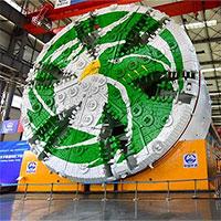 Trung Quốc sản xuất máy đào hầm nặng 4.800 tấn