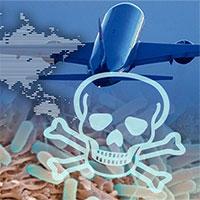 """Bệnh truyền nhiễm, máy bay thương mại: """"Chén Thánh"""" của khủng bố"""