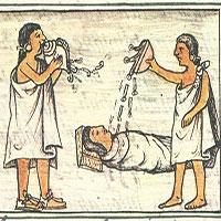 Kinh dị tục chôn người chết dưới nhà của người Atzec