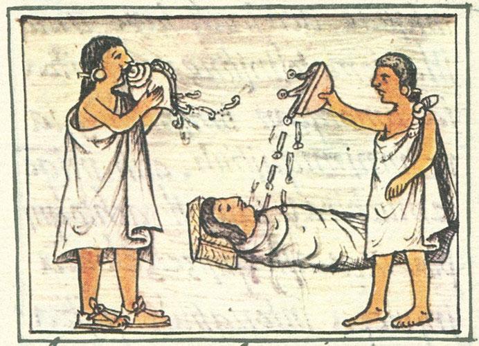Người Aztec tin rằng, khi một người chết đi thì cuộc sống của người đó không chấm dứt mà tiếp nối ở một thế giới khác.