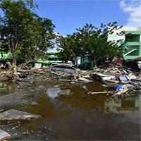 """Sốc: Đất ở Indonesia """"hóa lỏng"""" sau trận động đất, sóng thần kinh hoàng"""