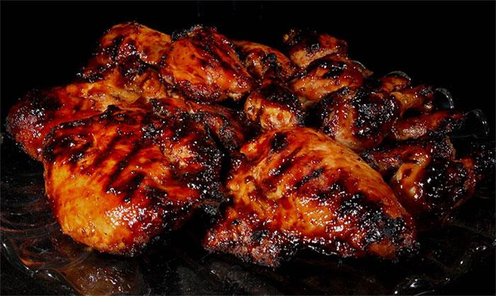 Thịt nướng cháy