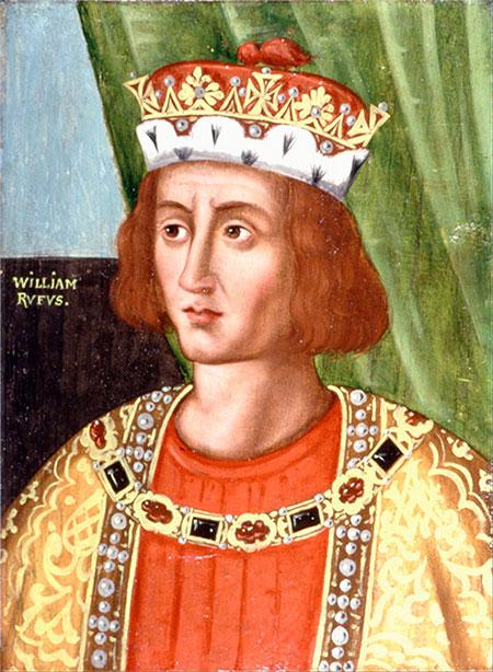 Vua William II của nước Anh