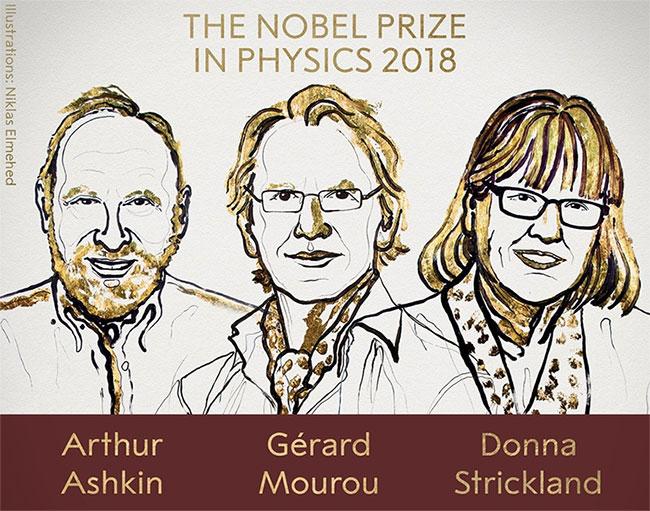 Học giả đoạt giải Nobel sẽ được trao huy chương bằng vàng 18K.