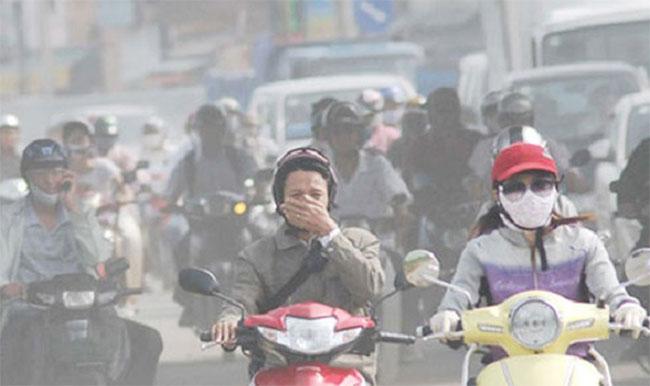 Nhiều chỉ số trong không khí ở Hà Nội vượt mức giới hạn cho phép.