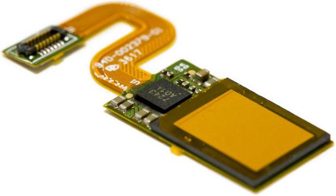 Cảm biến vân tay dựa trên chip quang học CMOS của Synaptic.