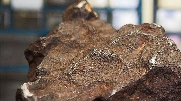 """Cục thiên thạch nặng 10kg từng chỉ được coi là """"cục đá"""" và dùng để chặn cửa suốt một thời gian dài."""