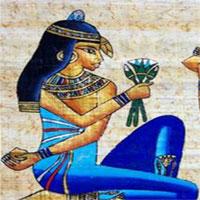 Vì sao người Ai Cập cổ đại sùng bái hình tượng hoa sen?