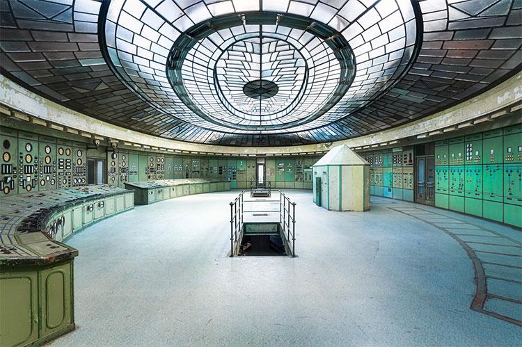 Hình ảnh bên trong một nhà máy điện ở Hungary