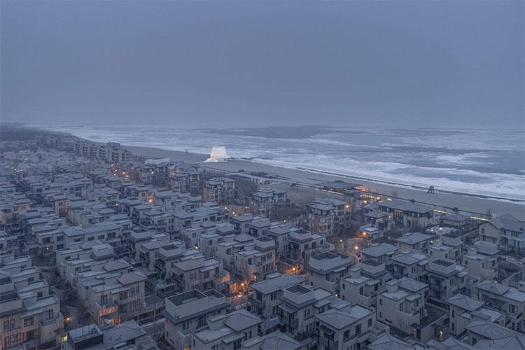 Hình ảnh Nhà nguyện bên bờ biển ở Qinhuangdao, Trung Quốc