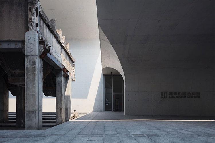 Hình ảnh bên ngoài Viện bảo tàng Long Museum West Bund Shanghai, Trung Quốc