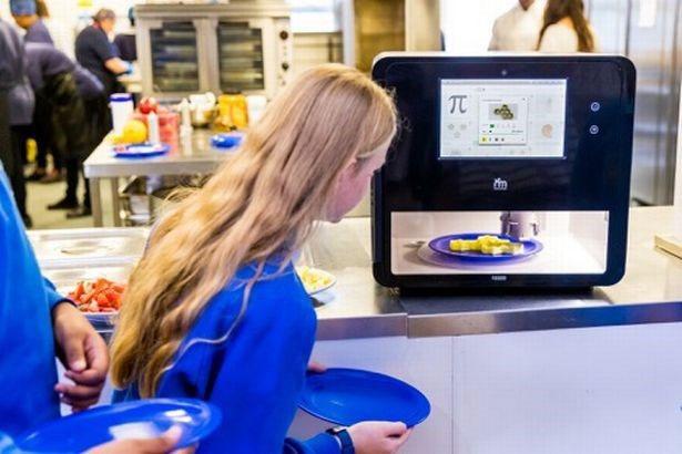 Các bữa ăn được tạo ra nhờ sử dụng máy in 3D