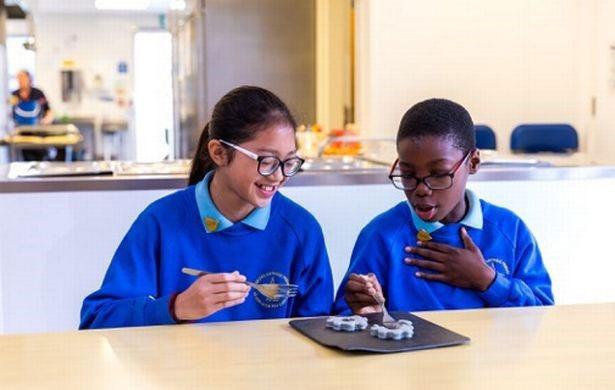 Các nhà khoa học hi vọng các bữa ăn sẽ truyền cảm hứng cho trẻ em theo đuổi các môn học STEM