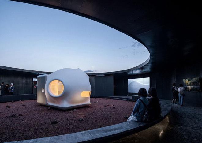 """Sở hữu thiết kế vô cùng """"khiêm tốn"""", song các tính năng hiện đại của ngôi nhà này là hoàn toàn phù hợp với điều kiện trên Hoả Tinh."""
