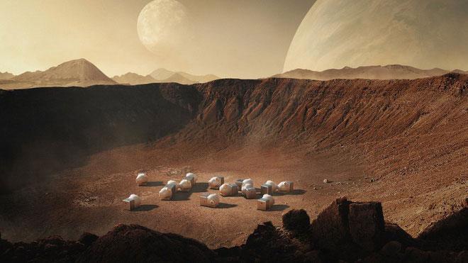 Việc con người tới định cư trên sao Hoả sẽ là điều hoàn toàn khả thi trong tương lai.