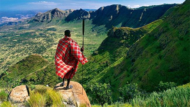 Một phần thung lũng Great Rift Valley