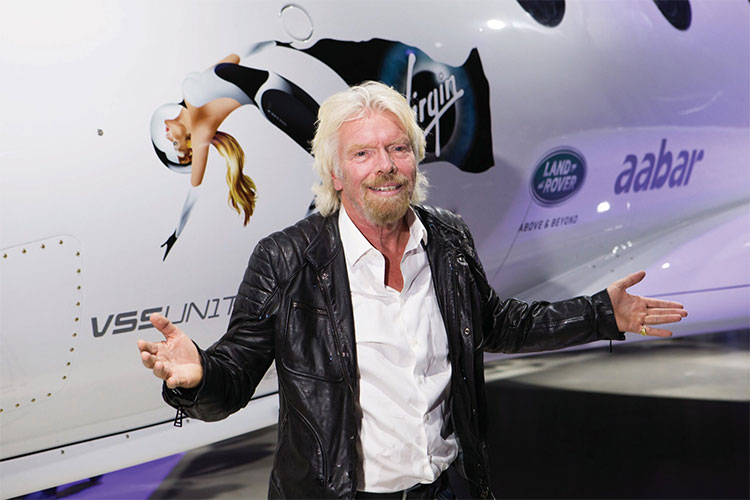Tỷ phú Branson đang đặt nhiều kì vọng cho một chuyến du lịch đầu tiên vào vũ trụ.