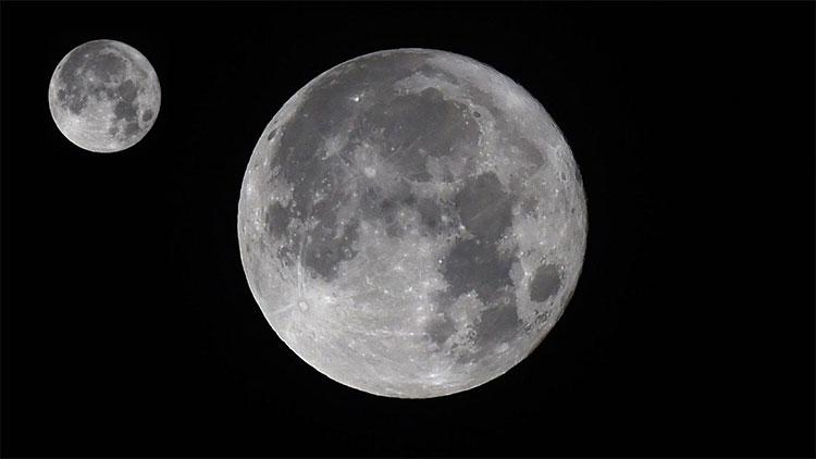 Mặt trăng liệu có trăng quay xung quanh?
