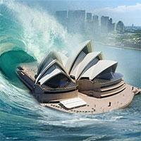 """Sóng thần """"hủy diệt"""" cao 60m có thể ập vào nước Úc"""