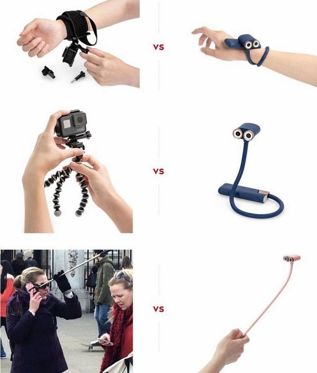 OPPY có thể thay thế được hầu hết các thiết bị chụp ảnh và phụ kiện đi kèm