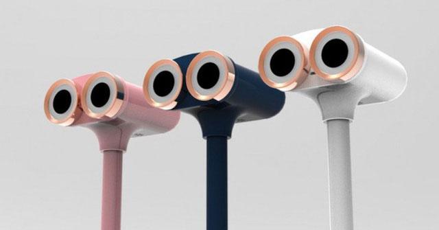 Thiết kế camera trông có vẻ hao hao đôi mắt của chú robot dễ thương Wall-E.