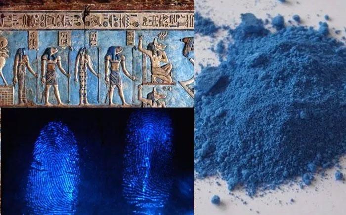 Màu xanh trên các bức phù điêu Ai Cập cổ đại mang nhiều giá trị khoa học khó tin