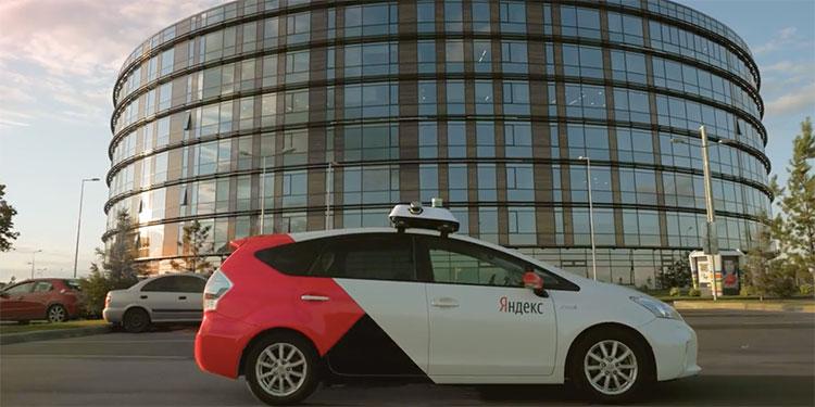 Taxi không người lái do hãng Yandex sản xuất