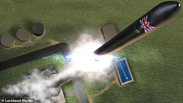 Anh hiện đang nỗ lực để hoàn thành cảng hàng không vũ trụ đầu tiên ở Châu Âu.