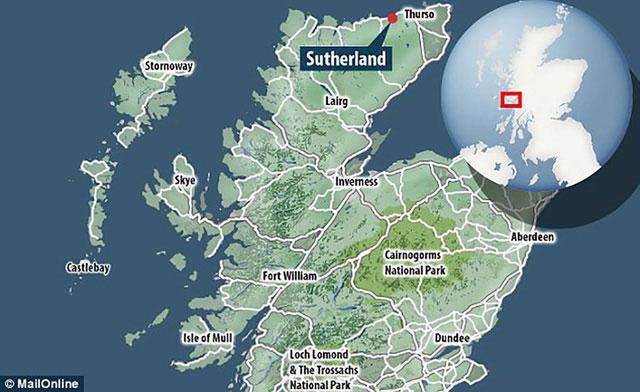 Sutherland, khu vực được xây dựng cảng hàng không vũ trụ dự kiến là đầu tiên ở Châu Âu.