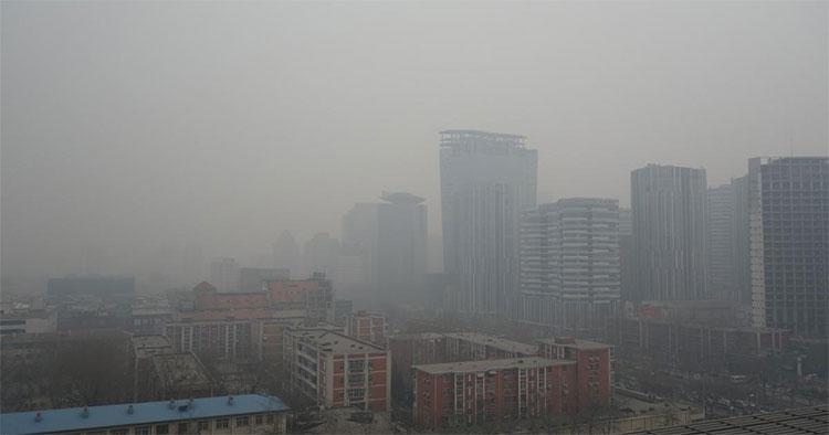 Sương mù tan dần do xuất hiện luồng không khí lạnh từ phương Bắc
