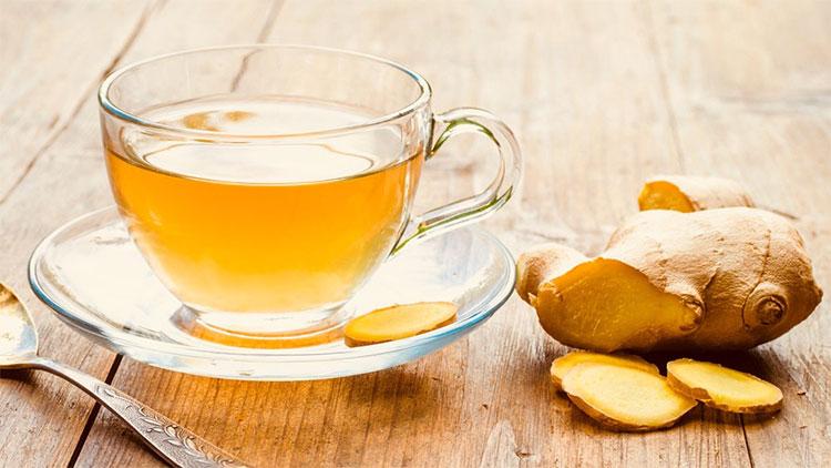 Uống trà gừng sau khi tập luyện buổi sáng rất có lợi cho sức khỏe.