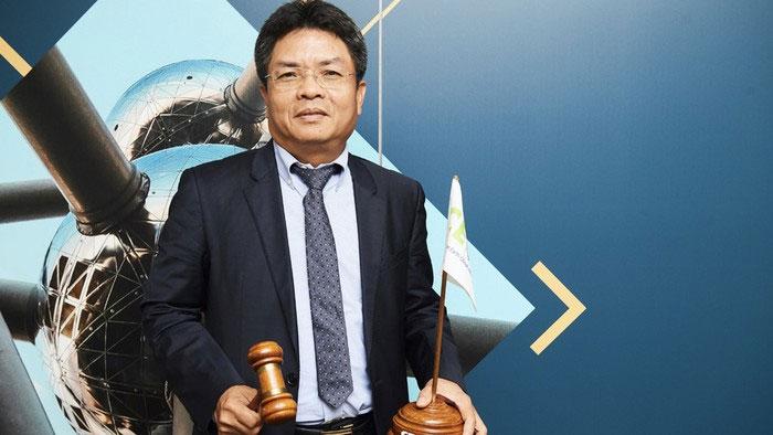 PGS Phạm Anh Tuấn giữ vị trí chủ tịch Ủy ban Vệ tinh quan sát Trái Đất 2019.