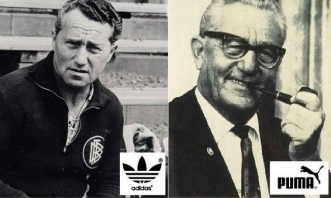 Hai anh em Adolf và Rudolf Dassler