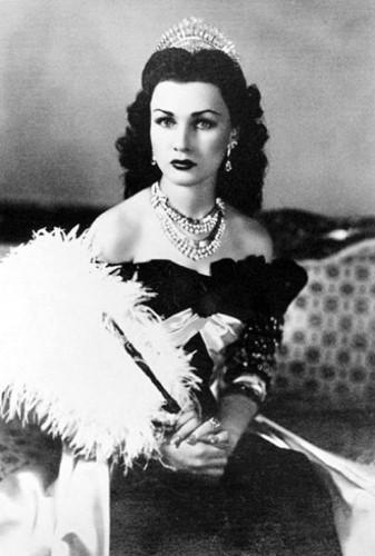 Chân dung công chúa Ai Cập Fawzia Fuad năm 1939