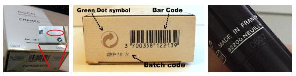 Batch code được dùng để đánh dấu nơi sản xuất, số lô hàng, và thời gian ra đời của một sản phẩm.
