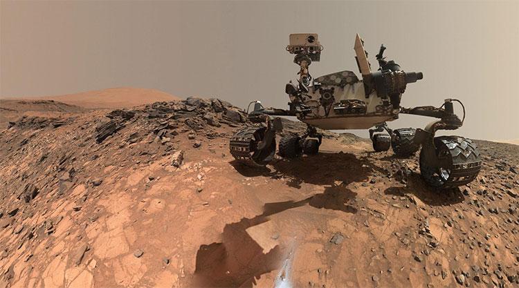 Xe tự hành Curiosity Rover của NASA vẫn liên tục hoạt động thời gian qua trên sao Hoả.