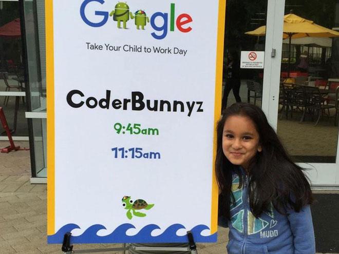 Samaira Mehta, người sáng lập kiêm CEO của CoderBunnyz.