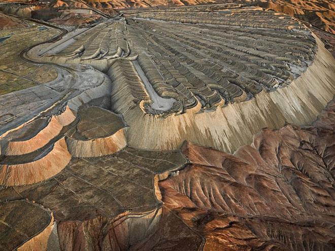 Mỏ đồng Chuquicamata, Calama, Chile năm 2017.