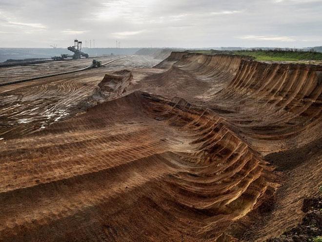 Mỏ than ở Bắc Rhine, Westphalia, Đức, năm 2015.