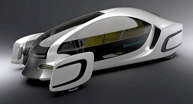 Mẫu xe ôtô đầu tiên 90% sản xuất từ các loại nhựa khác nhau vừa được trình làng tại Nhật Bản